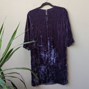 Velvet Graham & Spencer Prunella Blue Shift Dress